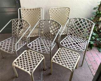Patio/Deck Chairs & Tables (7Pcs) https://ctbids.com/#!/description/share/209630