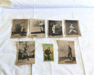 Antique Baseball Cards 7 Pieces https://ctbids.com/#!/description/share/209754