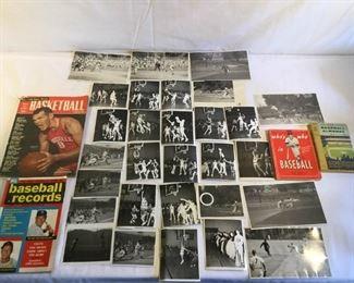 Vintage Baseball and Basketball Books and Photos https://ctbids.com/#!/description/share/209755