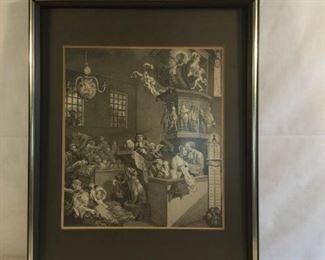 Antique William Hogarth Etching 1762 https://ctbids.com/#!/description/share/209699