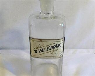 Antique Tincture of Valerian Bottle with Stopper (2Pcs)https://ctbids.com/#!/description/share/209700