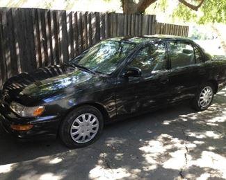 1997 Toyota Corolla, Black, 13720 miles https://ctbids.com/#!/description/share/209606