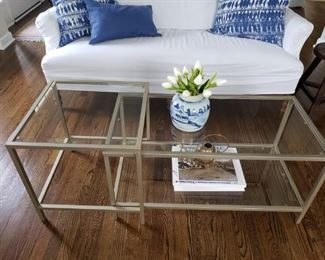 47 Glass Coffee Table