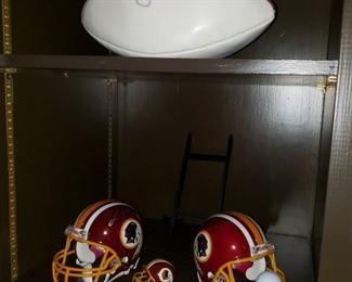 6A Redskins Helmets and Football