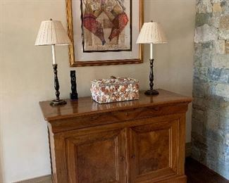 Pair of Louis Philippe cabinets