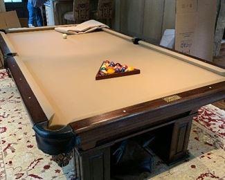 Schmidt pool table