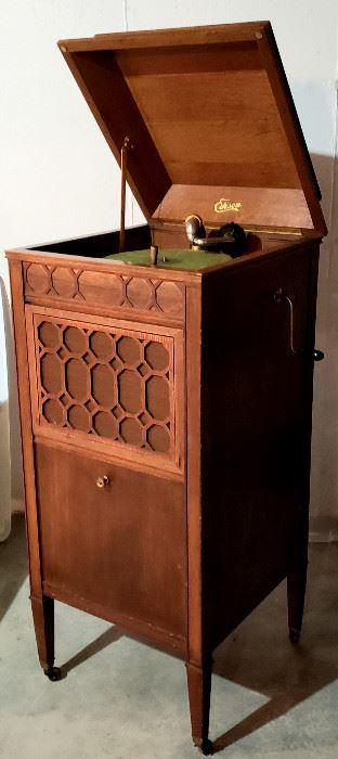 Antique Edison phonograph