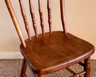 Child's bentwood side chair