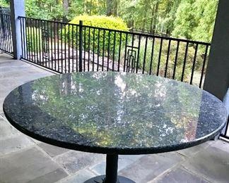 Granite & Iron Base Table