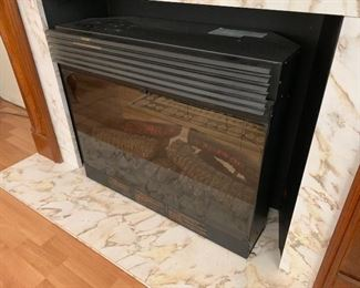 Dimplex Electric Fireplace/Heater	25x30x12in	HxWxD
