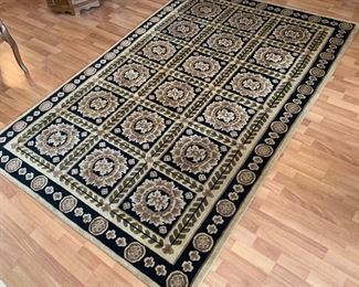 60x96 Hand Knotted Wool Rug	60x96in