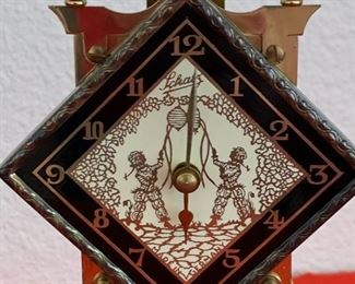 Schatz 400 Day Anniversary Clock Diamond Face