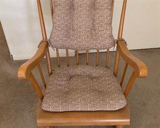 Rocking Chair39X 24X 28HxWxD
