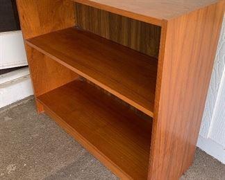 Teak Veneer Short Bookshelf29x32x12.5HxWxD