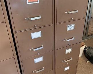 Devon 4-Drawer File Cabinet Industrial #1  Devon 4-Drawer File Cabinet Industrial #2