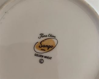 100+ PC SANGO Golden Wheat CHINA SET