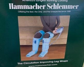 Hammacher Schlemmer Leg Wraps