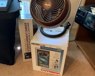 Tornado fan in box