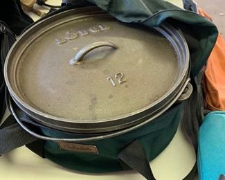 Lodge Cast Iron Dutch Oven #12