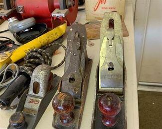 vintage wood planes