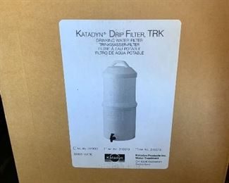 Katadyn Drip Filter TRK in box