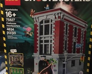 LEGO Ghostbusters Firehouse Headquarters, brand new in the box #75827