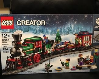 Lego creator Winter Holiday train, get them for Christmas which is only 4 months away!