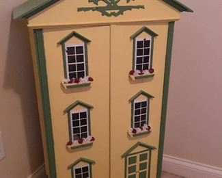 Hand made beautiful doll house