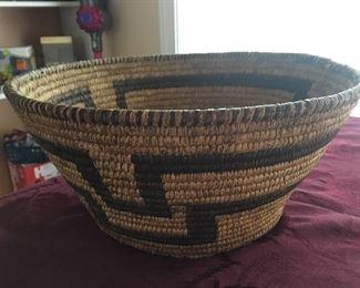 Hand weaved Indian basket