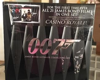 For all of your James Bond lovers, ultimate collectors set- 42 dvd's