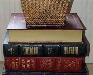 """""""FAUX BOOK"""" SIDE TABLE WITH STORAGE"""
