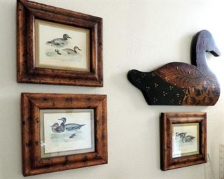 DUCK FRAMED PICTURES