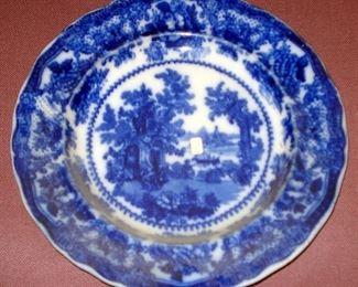 Antique Flow Blue