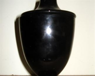 Vintage Ebony Glass