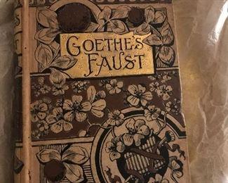 Vintage book, Goethe's faust
