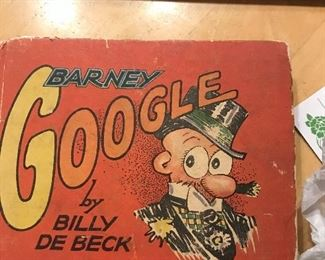 Vintage book, Barney Google