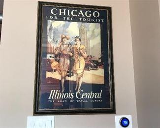 Chicago themed framed prints