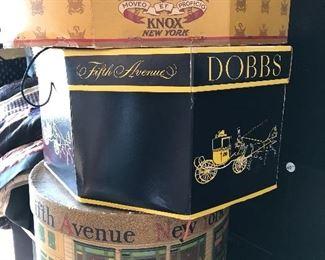More vintage hat boxes