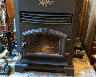 Available for presale! Moved into the house but never installed or used. King pellet stove. $900 presale