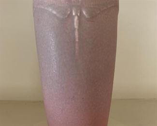 Rookwood Dragonfly vase.