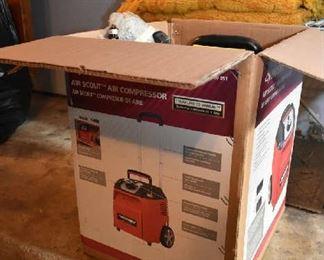AIR COMPRESSOR NEW IN BOX