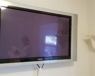 Philips flat screen wall-mount TV
