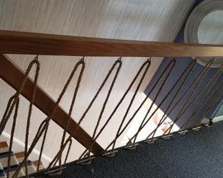 Great stair rail!