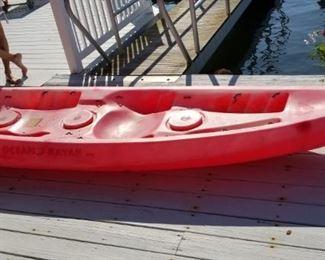 Tandem kayak by Ocean Kayak