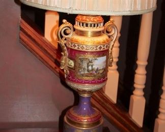 Pair of Colorful Vintage Lamps