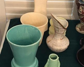 McCoy, Royal Haeger,  Brush Pottery, and Studio pottery