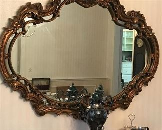 Gorgeous mirror and silverplate samovar