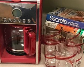 Red Belle coffee maker
