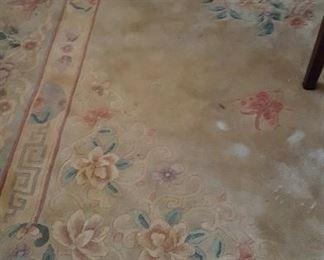 Handmade Chinese rug