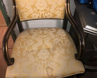Antique Traditional French Regency Chair